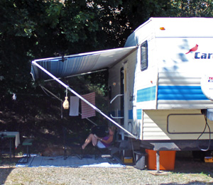 Grand Forks Campground RV Sites