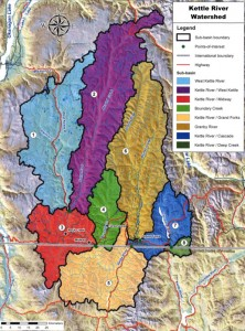 Kettle River Watershed Map