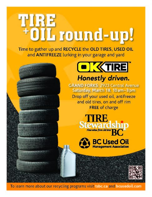 Tire and oil round-up