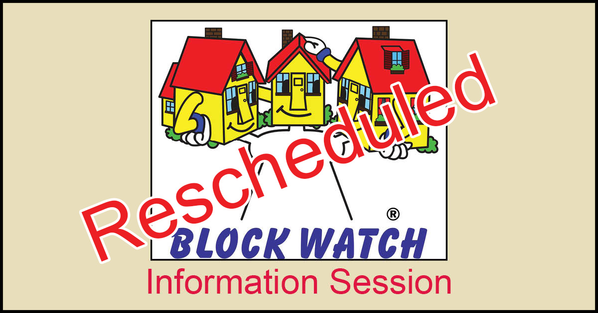 blockwatch meeting Jan 17 2018 rescheduled