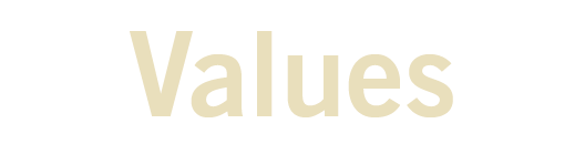Values text